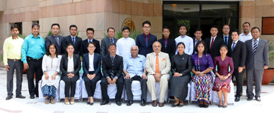 Participants of the 11th Special Course for ASEAN Diplomats pose with the FSI Staff