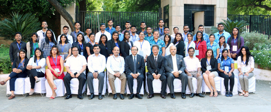 Participants of the 42nd Know India Programme pose with the FSI Staff  3rd October 2017