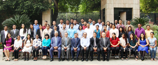 Participants of the 43rd Know India Proramme, visit FSI (2nd & 3rd November 2017)