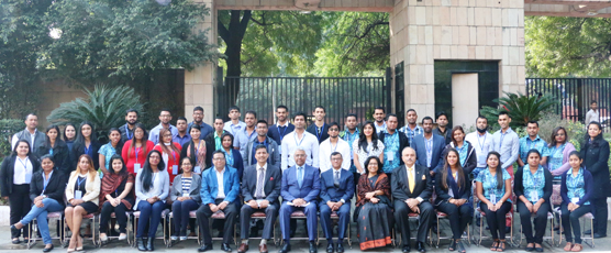 Participants of the 44th Know India Programme with Sh. Dnyaneshwar M Mulay, Secretary (CPV &OIA) and the FSI Staff, on the inaugural day. The programme is being conducted at FSI for 30th of November and 1st of December, 2017.