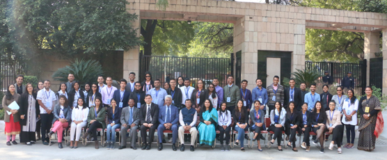 40 Diaspora Youth from 11 Countries participating in the 45th Know India Program from 30-31 January 2018 at the FSI, New Delhi.