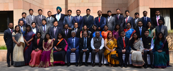 General (Dr.) Vijay Kumar Singh (Retd), Minister of State for External Affairs addressed and interacted with Indian Foreign Service Officer Trainees of the 2017 batch at the Foreign Service Institute today on 21st February 2018.
