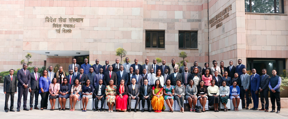 Participants of 1st Special course for Diplomats from Francophone Central & West African