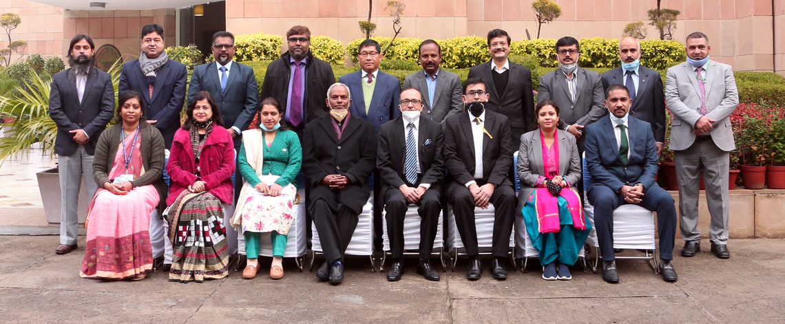 First Special Training Programme on 'Economic & Commercial Diplomacy' for IAS and other officers from States and Union Territories organised from 4-8 January 2021.