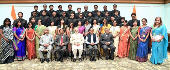 Call on Hon'ble Prime Minister of India by the Indian Foreign Service Officer Trainees of 2016 batch